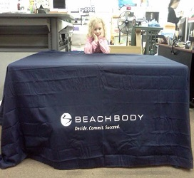 Trade Show Table Cover